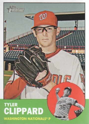 Photo of 2012 Topps Heritage #263 Tyler Clippard