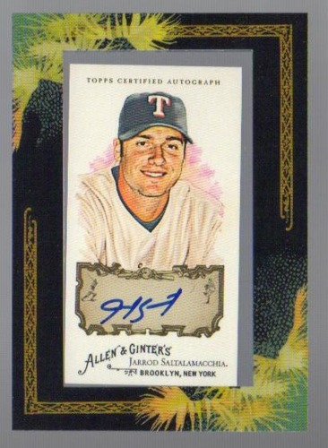 Photo of 2008 Topps Allen and Ginter Autographs #JS Jarrod Saltalamacchia C