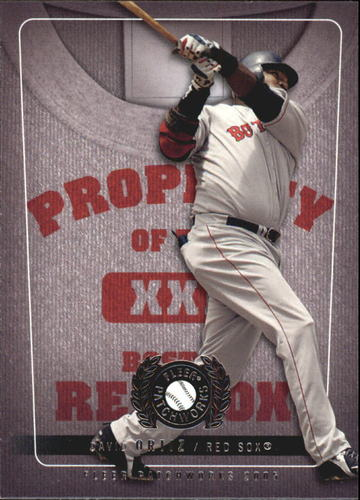 Photo of 2005 Fleer Patchworks Property of #5 David Ortiz
