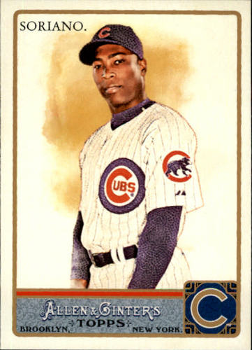 Photo of 2011 Topps Allen and Ginter #62 Alfonso Soriano