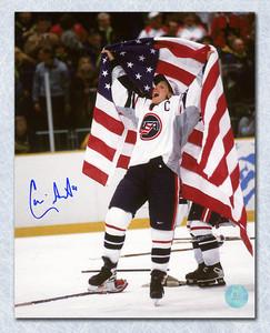 Cammi Granato Team USA Autographed Victory Celebration 8x10 Photo