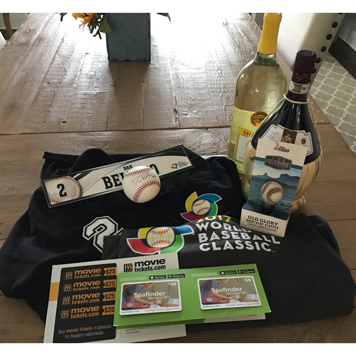 "Photo of UMPS CARE AUCTION: MLB Umpire Dan Bellino ""World Baseball Classic"" Gift Box"
