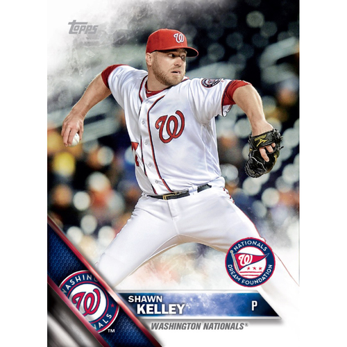 Photo of SHAWN KELLEY AUTOGRAPHED, PERSONALIZED & MLB AUTHENTICATED LIMITED EDITION WNDF BASEBALL CARD