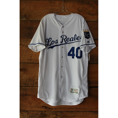 Photo of Kelvin Herrera Game-Used Jersey (6/24/17 TOR at KC) (Size 46)