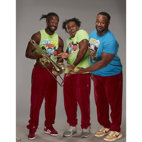Photo of The New Day SIGNED Trombone (Connors Cure - 09/05/17)