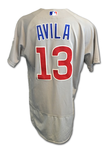 Alex Avila Game-Used Jersey -- Cubs Clinch 2017 NL Central Division -- Cubs at Cardinals -- 9/27/17