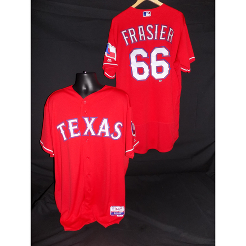 Photo of Josh Frasier Game-Used 2017 Opening Day Jersey - Size 46