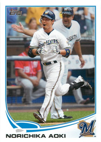 Photo of 2013 Topps #307 Norichika Aoki