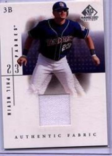 Photo of 2001 SP Game Used Edition Authentic Fabric #PN Phil Nevin