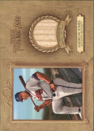 Photo of 2007 Topps Turkey Red Relics #AJ2 Andruw Jones Bat F