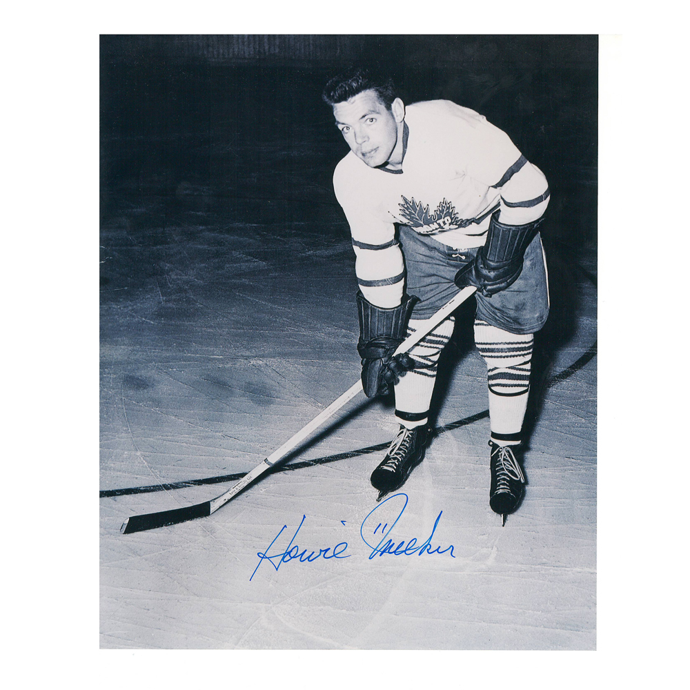 HOWIE MEEKER Signed Toronto Maple Leafs 8 X 10 Photo - 70059