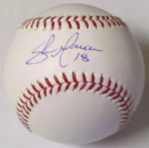 Photo of Shaun Marcum Autographed Baseball
