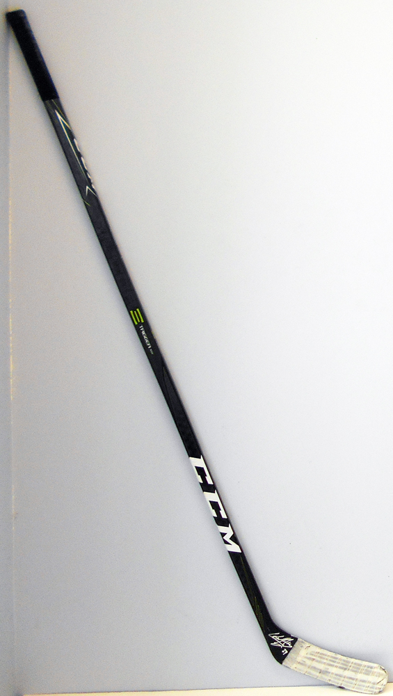 #27 Karl Alzner Game Used Stick - Autographed -  Washington Capitals