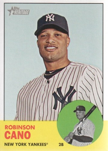 Photo of 2012 Topps Heritage #264A Robinson Cano