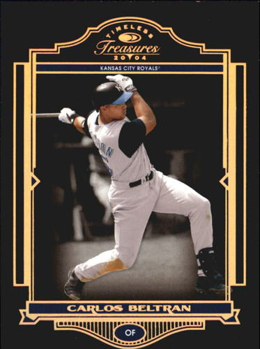Photo of 2004 Timeless Treasures Bronze #60 Carlos Beltran