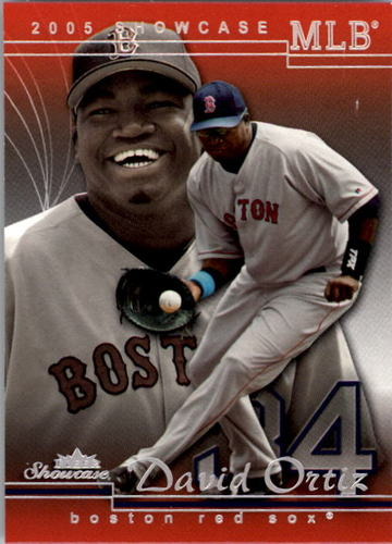 Photo of 2005 Fleer Showcase #17 David Ortiz