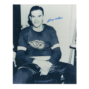 HARRY WATSON Signed Detroit Red Wings 8 X 10 Photo - 70060