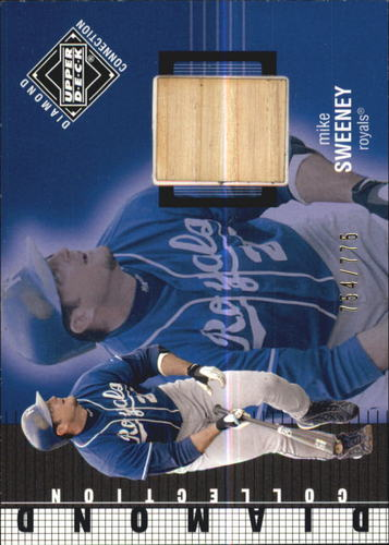 Photo of 2002 Upper Deck Diamond Connection #423 Mike Sweeney DC Bat
