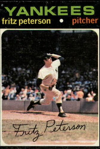 Photo of 1971 Topps #460 Fritz Peterson