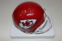 CHIEFS - DONTARI POE SIGNED CHIEFS MINI HELMET