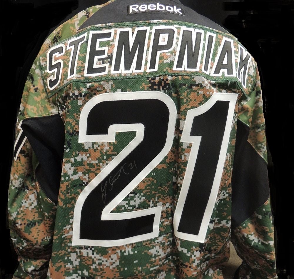 Carolina Hurricanes Lee Stempniak #21 Military Appreciation Jersey