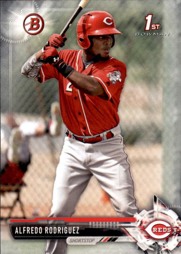 Photo of 2017 Bowman Prospects #BP94 Alfredo Rodriguez