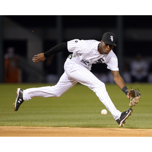 Photo of Sox Serve Week - Turn-Two: Fielding Clinic with Tim Anderson and Yolmer Sanchez