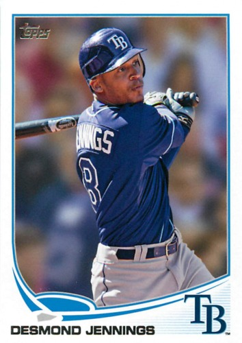 Photo of 2013 Topps #308 Desmond Jennings
