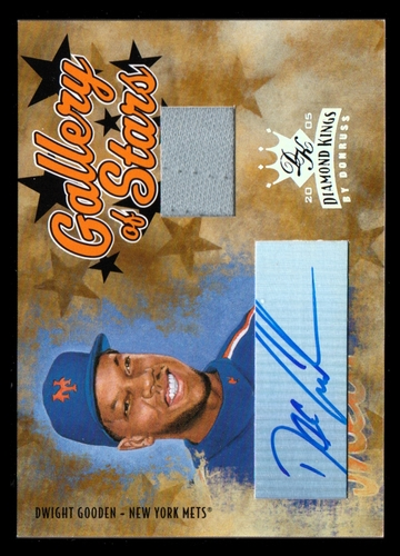 Photo of 2005 Diamond Kings Gallery of Stars Signature Jersey #11 Dwight Gooden/50