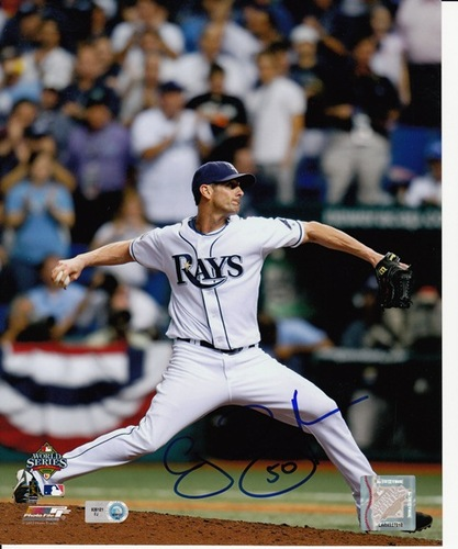 Photo of Grant Balfour Autographed 8x10
