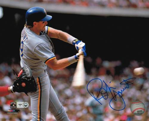 Photo of Robin Yount Autographed 8x10