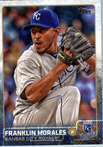 Photo of 2015 Topps Update #US217 Franklin Morales