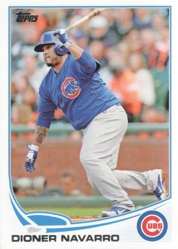 Photo of 2013 Topps Update #US184 Dioner Navarro