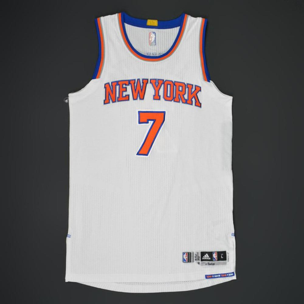 Carmelo Anthony - New York Knicks - Game-Worn Jersey - 2015-16 NBA Season