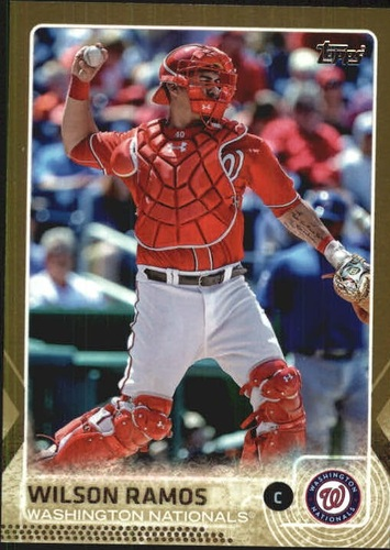 Photo of 2015 Topps Gold #46 Wilson Ramos