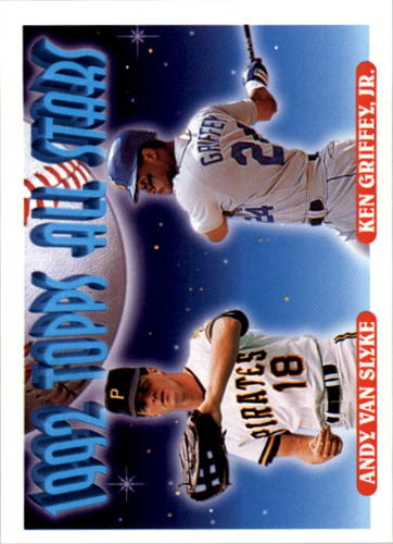 Photo of 1993 Topps #405 Andy Van Slyke/Ken Griffey Jr. AS