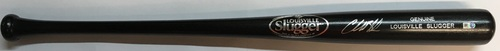 Photo of Charlie Blackmon Autographed Black Louisville Slugger Bat