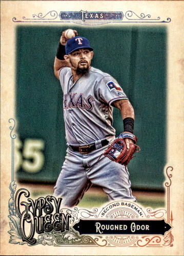 Photo of 2017 Topps Gypsy Queen #259 Rougned Odor