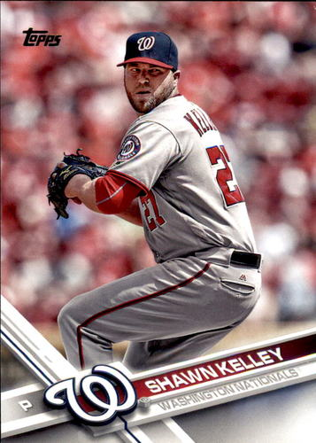 Photo of 2017 Topps #541 Shawn Kelley -- Nationals post-season