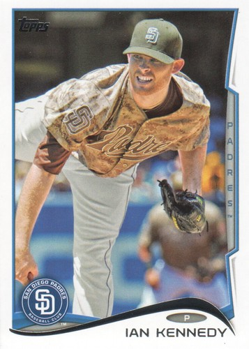 Photo of 2014 Topps #409 Ian Kennedy
