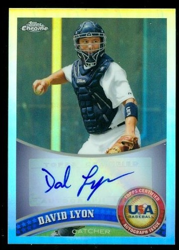 Photo of 2011 Topps Chrome USA Baseball Autographs Refractors #USABB3 Josh Elander