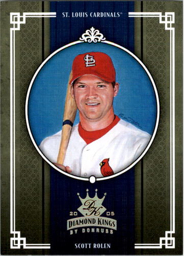 Photo of 2005 Diamond Kings Gold #210 Scott Rolen
