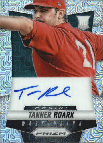 Photo of 2014 Panini Prizm Rookie Autographs Prizms Mojo #TR Tanner Roark
