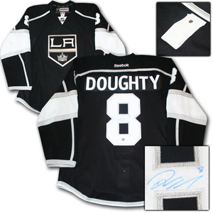 Drew Doughty Autographed Los Angeles Kings Authentic Pro Jersey