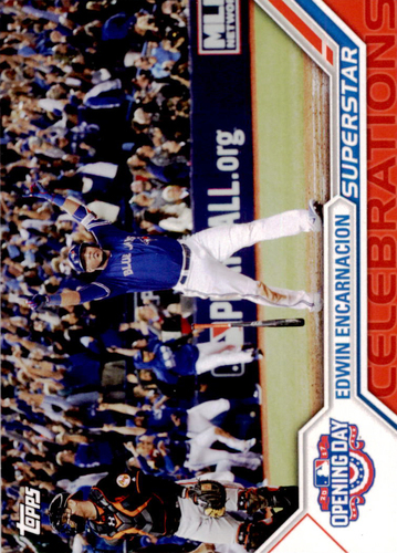 Photo of 2017 Topps Opening Day Superstar Celebrations #SC18 Edwin Encarnacion