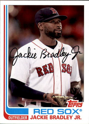Photo of 2017 Topps Archives #131 Jackie Bradley Jr.
