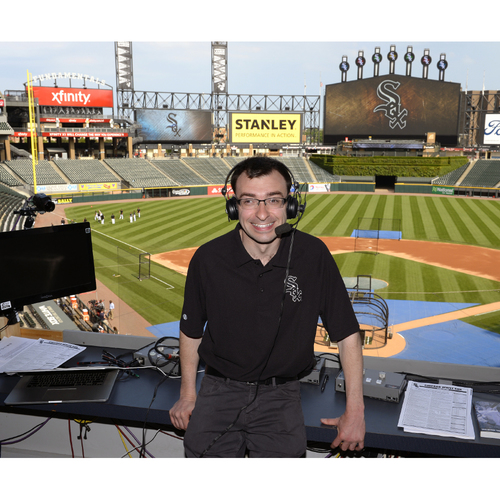 Photo of Sox Serve Week - Lights, Camera, Action: Broadcast Experience with White Sox Broadcasters