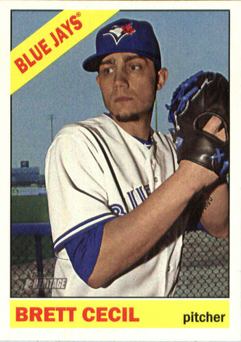 Photo of 2015 Topps Heritage #502 Brett Cecil