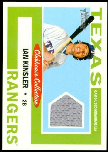 Photo of 2013 Topps Heritage Clubhouse Collection Relics #IK Ian Kinsler