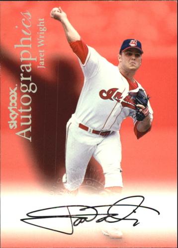 Photo of 2000 SkyBox Autographics #130 Jaret Wright